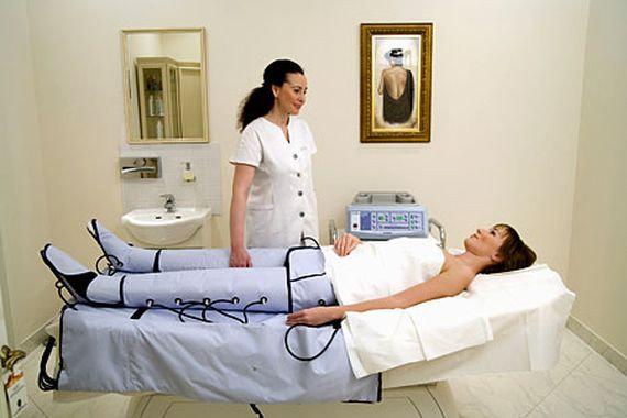 Лимфодренажный массаж тела аппаратом